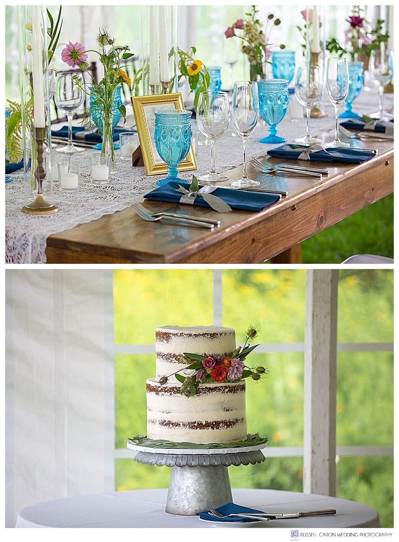 wedding reception detail photos