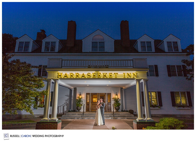 Weddings at the Harraseeket Inn Freeport Maine