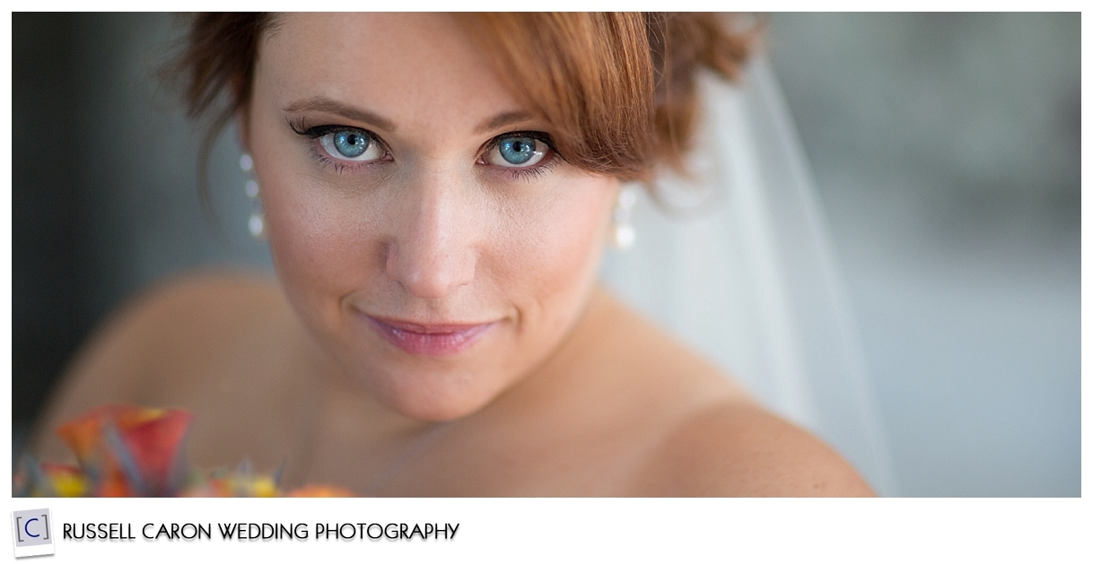 Bridal portrait at the Colony Hotel, Kennebunkport Maine