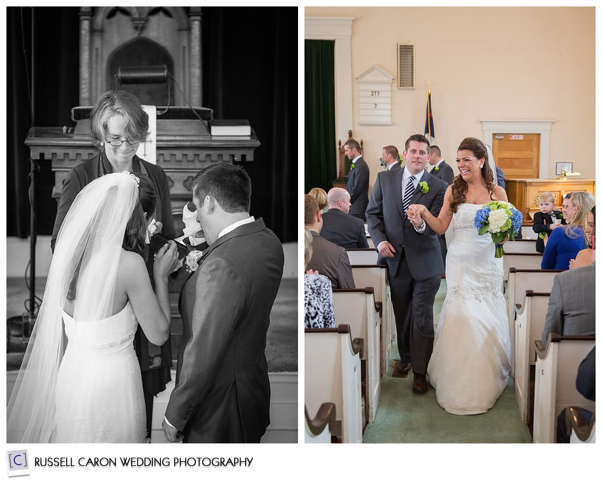 Weddings at the Community Church of Jackson, NH