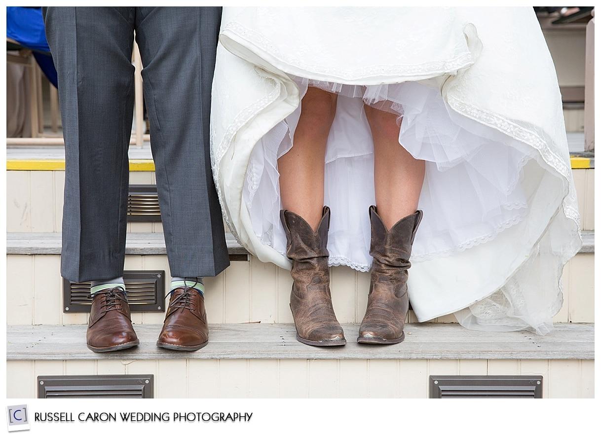 Cowboy boot details