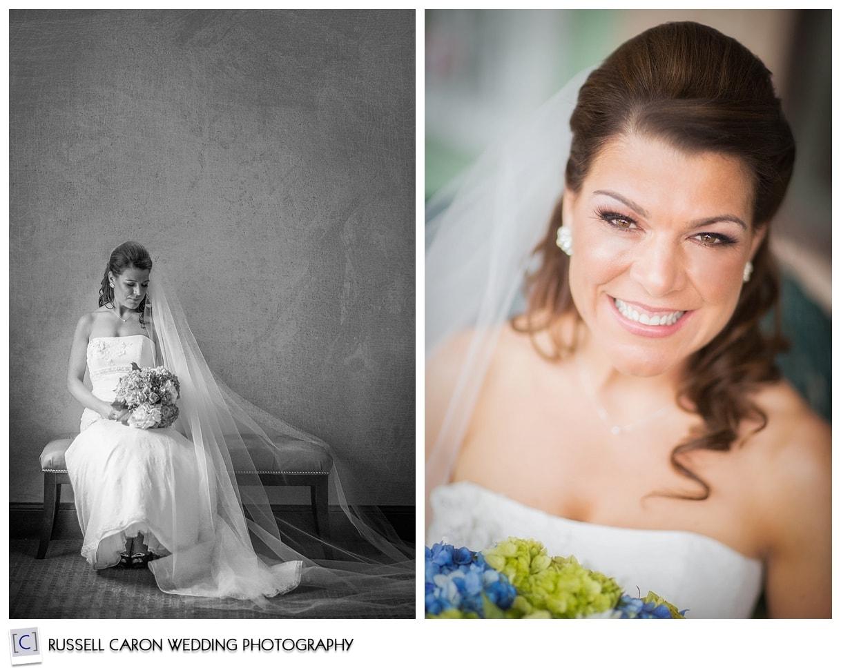 Bridal portraits of Michelle