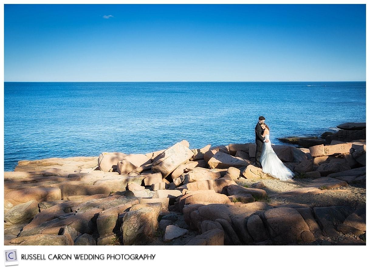 Wedding photography at Acadia National Park