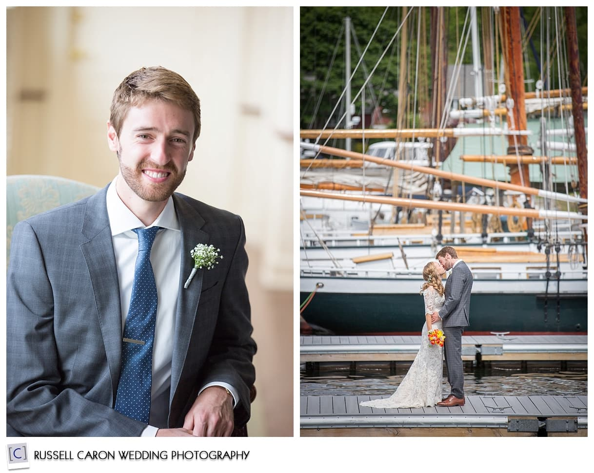 Photo of Josh, couple at the dock