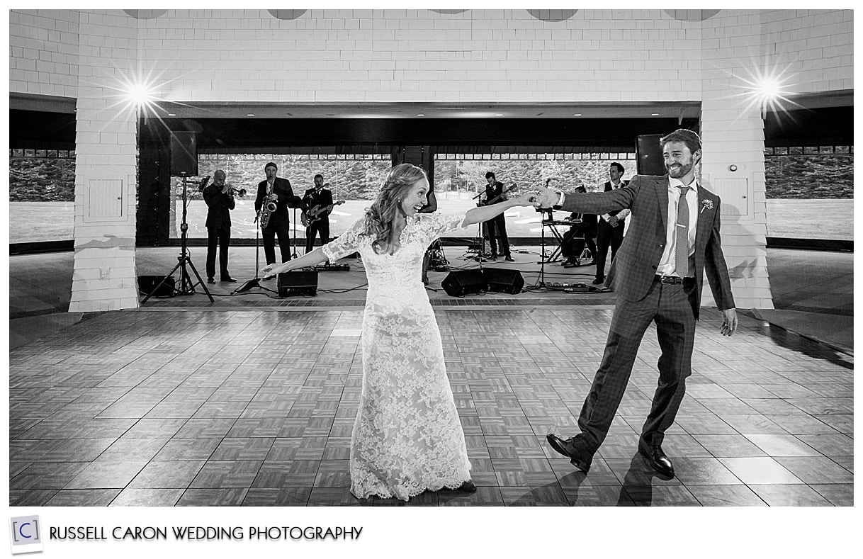 First dance with the band Ripcord