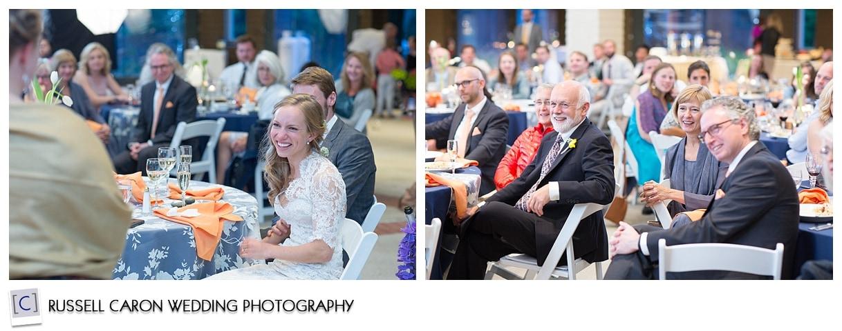 Maine weddings, toasts