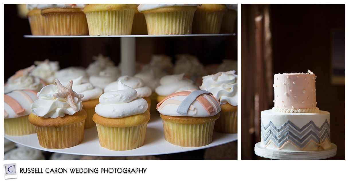 Cake and cupcakes by Let Them Eat Cake, Kennebunkport, Maine