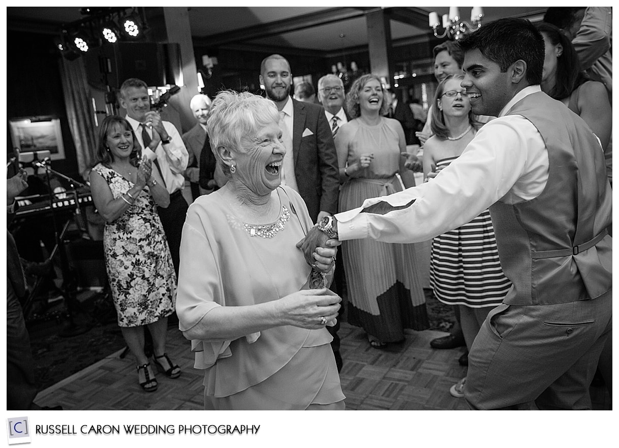Dancing at the Colony Hotel, Kennebunkport