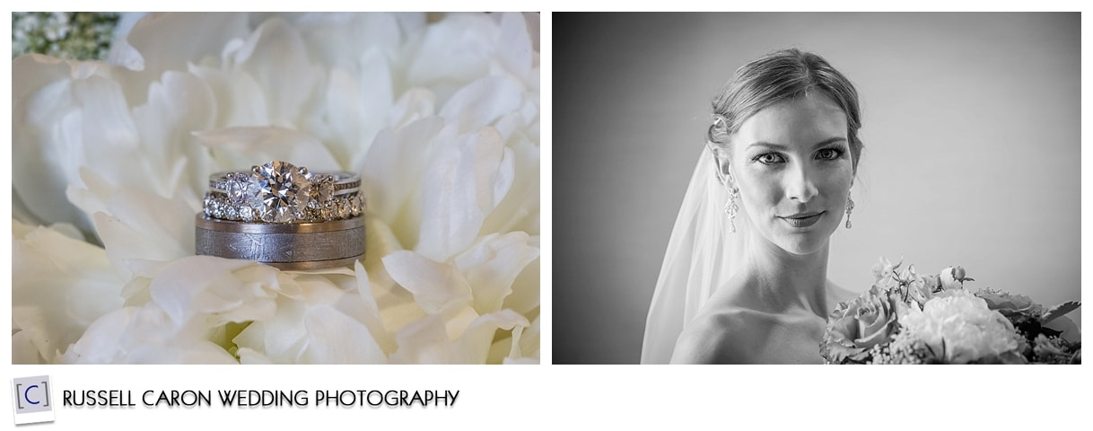 Ring shot, bridal portrait
