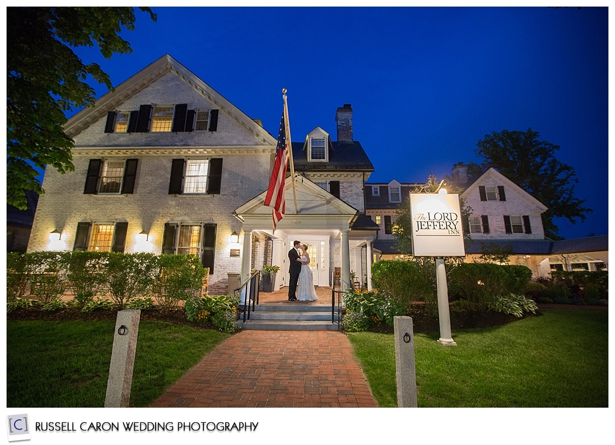 New England weddings at Lord Jeffery Inn