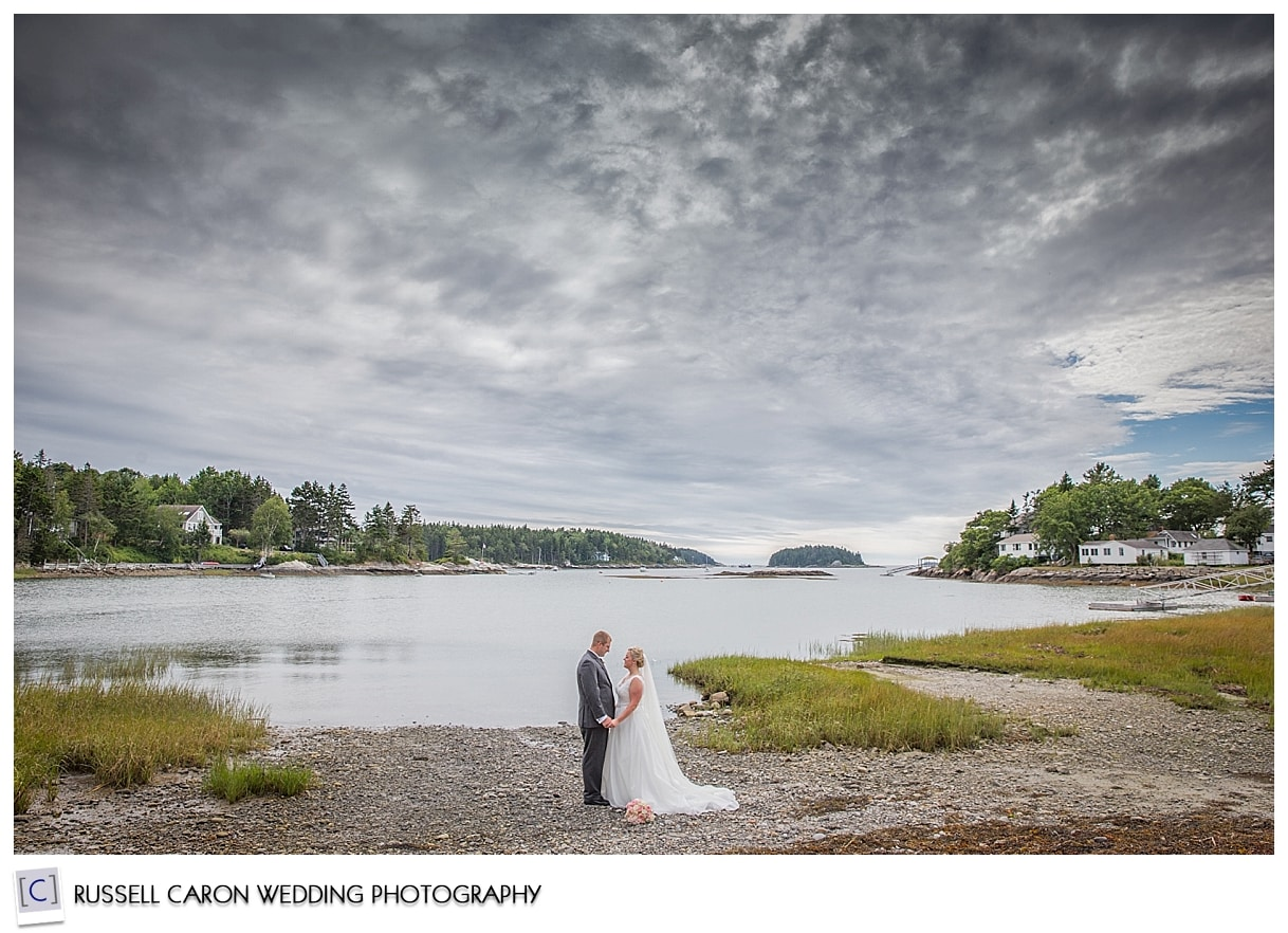 Couple at Round Cove, Sebasco Harbor Resort
