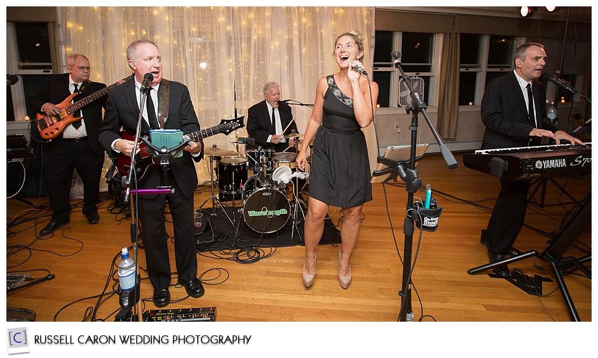 Wavelength Band at Sebasco Harbor Resort, Phippsburg, Maine