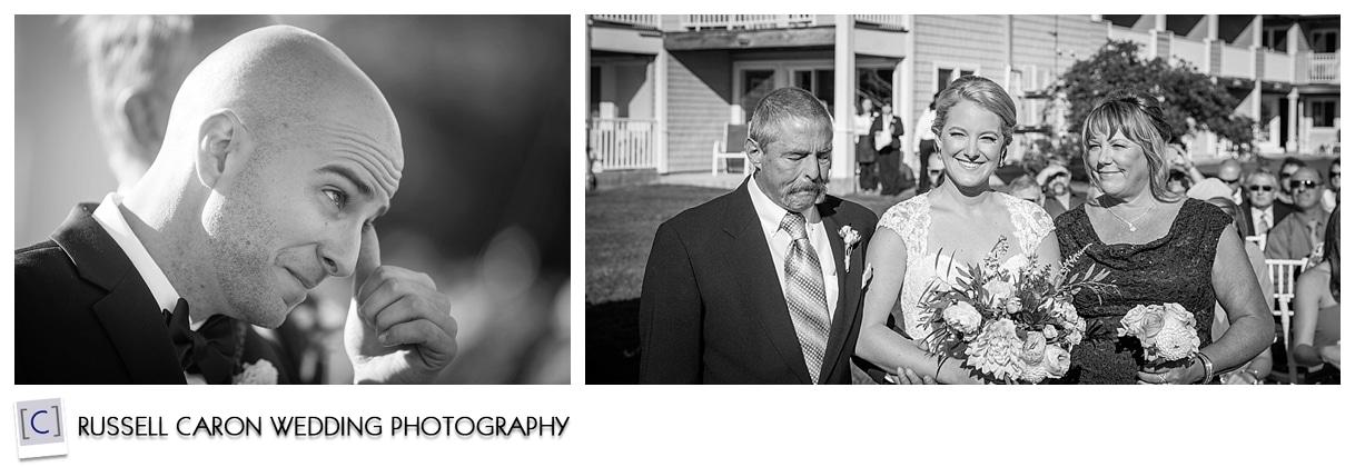 bride-with-parents-during-outdoor-nonantum-resort-wedding-ceremony