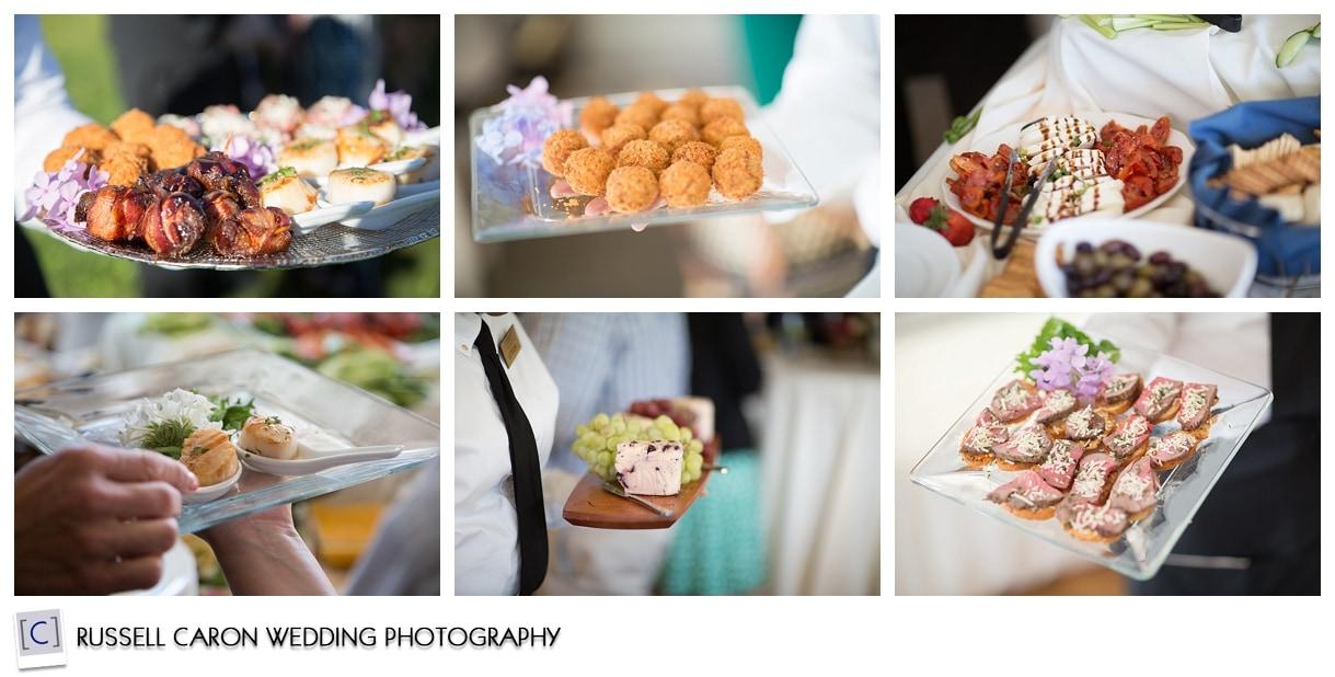 cocktail-food-at-nonantum-resort-wedding-kennebunkport-maine