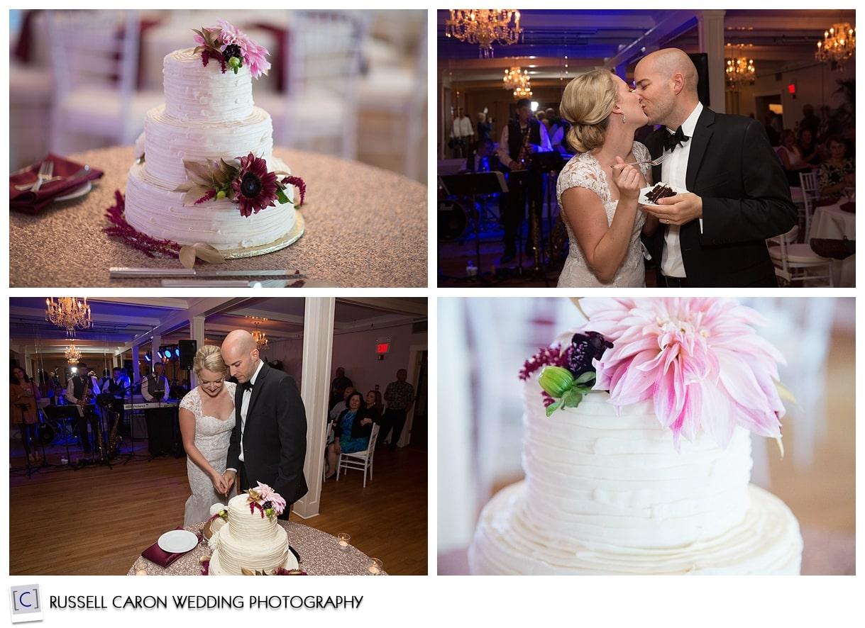 cake-cutting-during-wedding-reception
