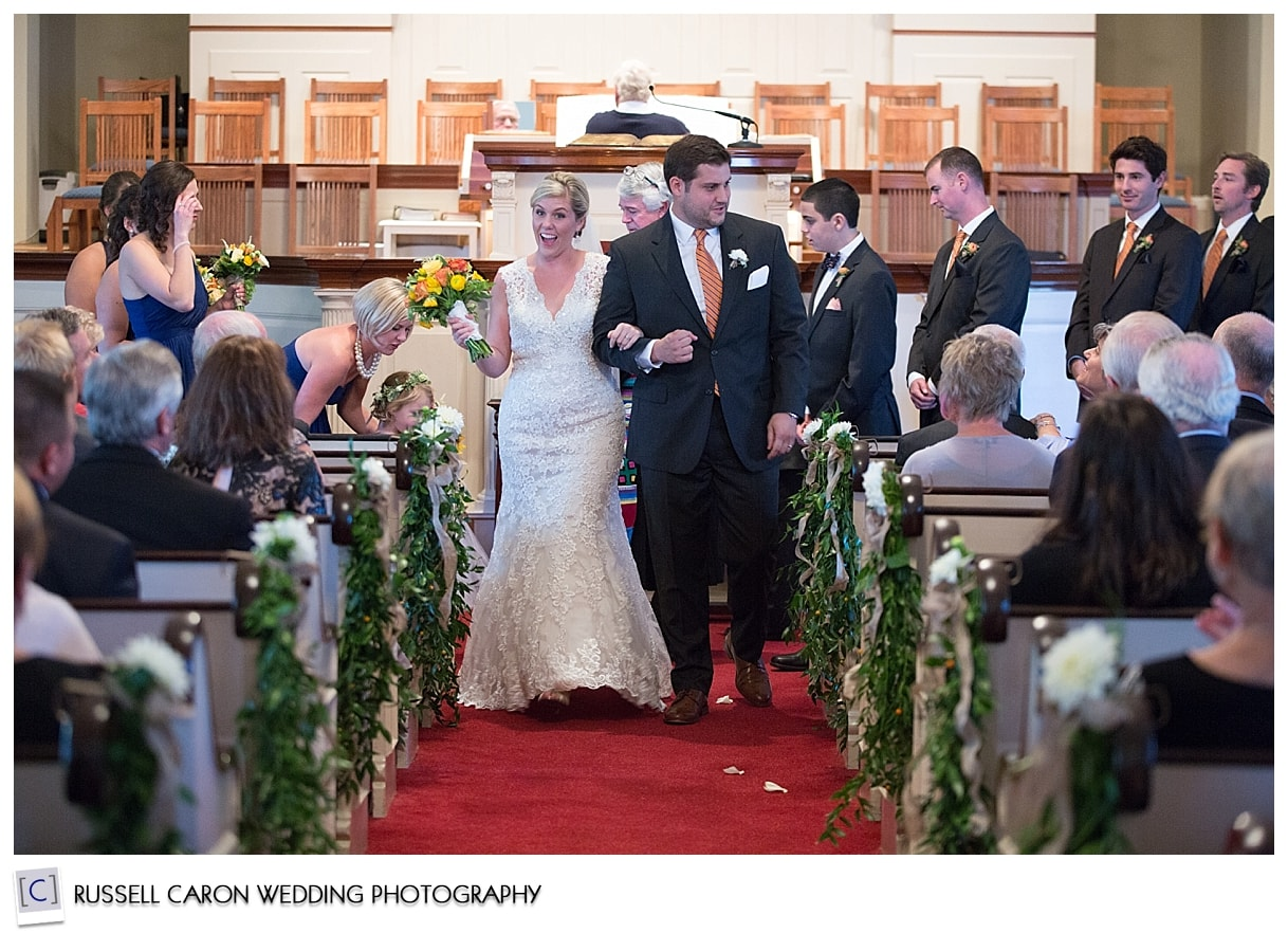 bride-and-groom-during-wedding-recessional