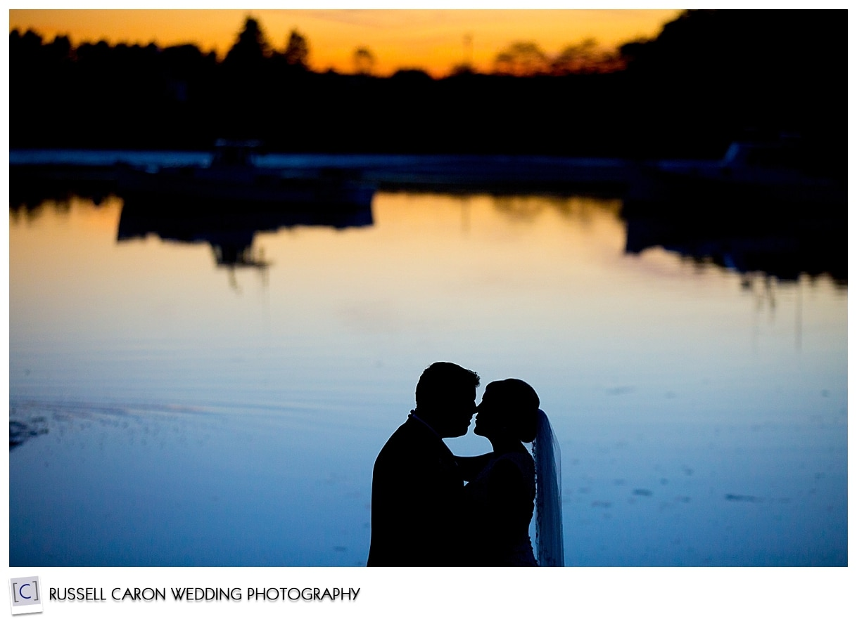 bride-and-groom-during-sunset-at-their-nonantum-wedding
