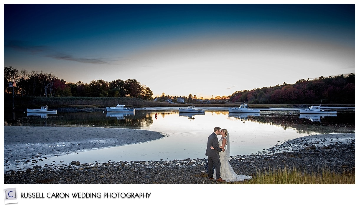 bride-and-groom-during-sunset-at-kennebunkport-maine-wedding