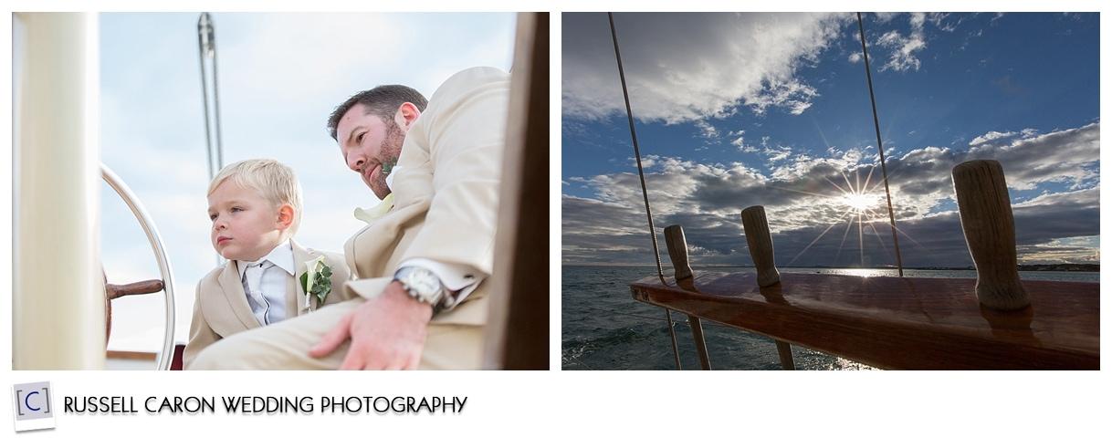 groom-and-groomsmen-sailing