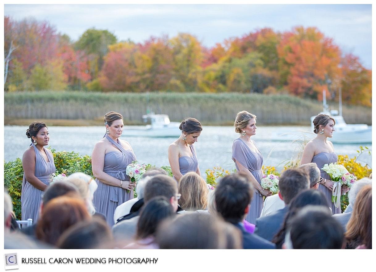 bridesmaids-during-fall-wedding-at-nonantum-resort-kennebunkport-maine