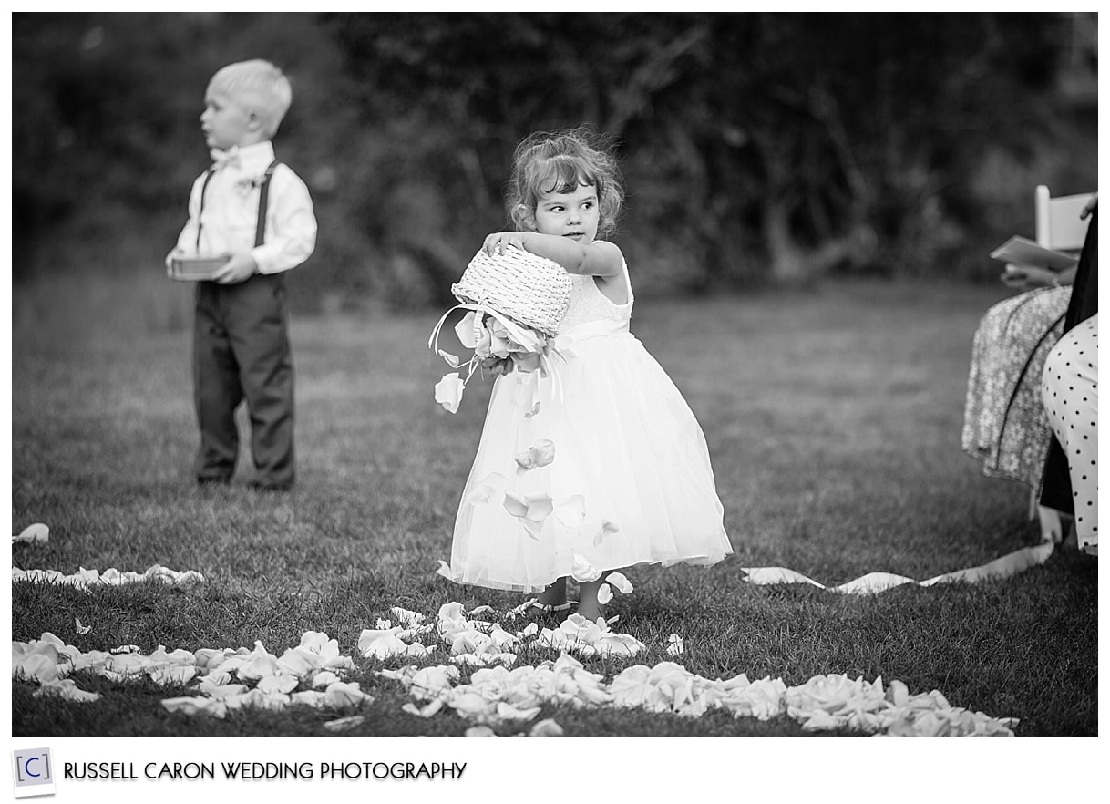 Flower girl dumping out flowers, #50, 50 best wedding images of 2015