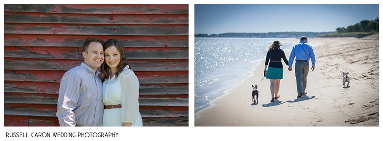 Maine beach weddings