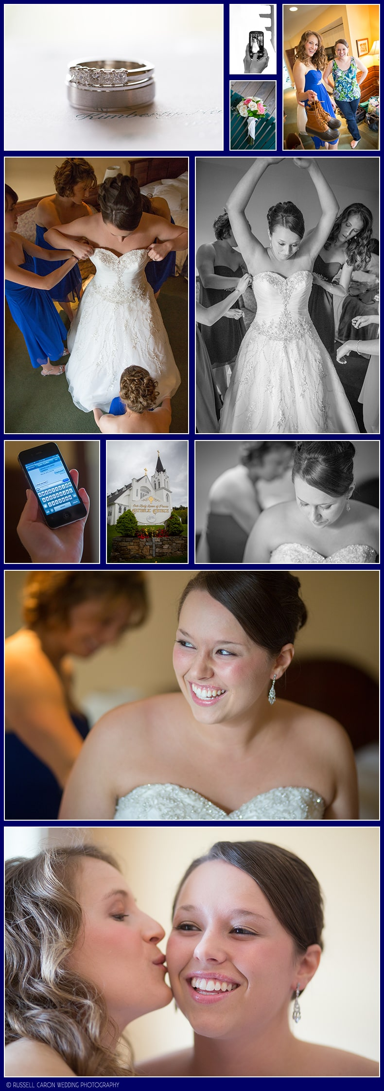 Boothbay Harbor Maine wedding details