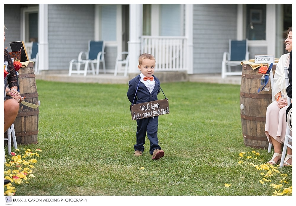 Ring Bearer is one of the most adorable wedding photos of 2016