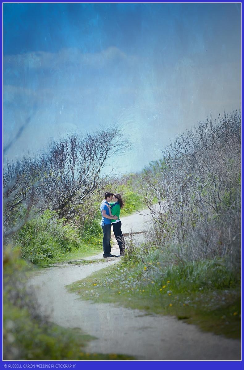 Engagement session Cape Elizabeth Maine