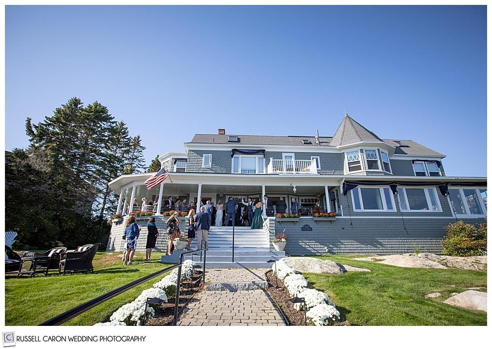 Cape Arundel Inn wedding reception venue, Kennebunkport, Maine