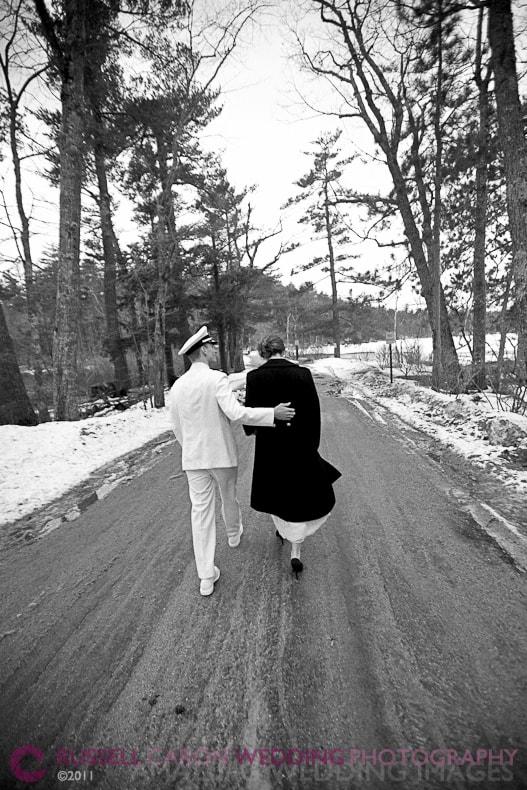 winter weddings in New England