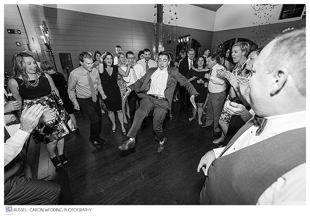 wedding reception dancing fun photos