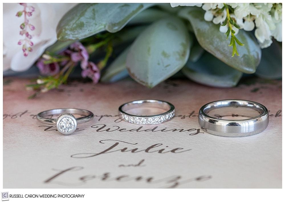 wedding ring detail photo ideas