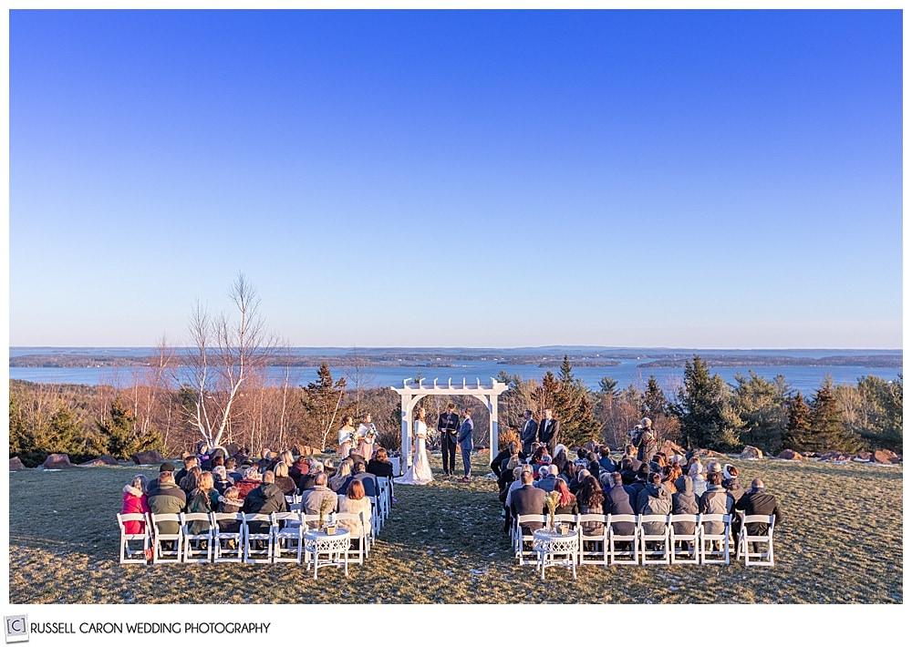 midcoast maine wedding ceremony
