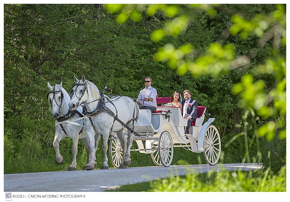bride-and-father-arrive-at-mountain-top-inn-by-horse-and-carriage