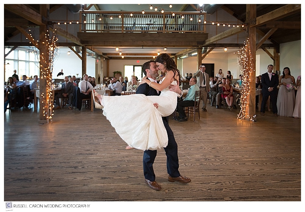 bride-and-groom-during-first-dance-at-the-mountain-top-inn-barn
