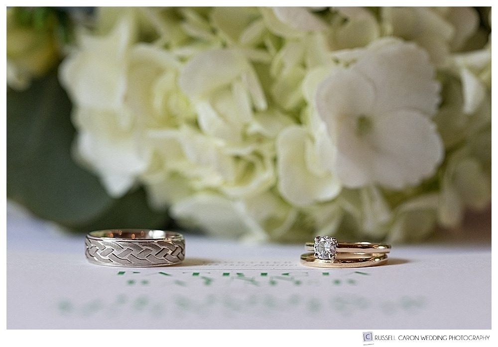 wedding day details, ring shots