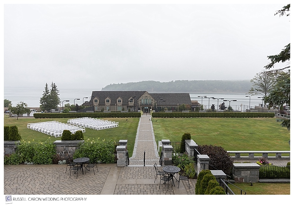 Bar Harbor Club, Bar Harbor Maine wedding