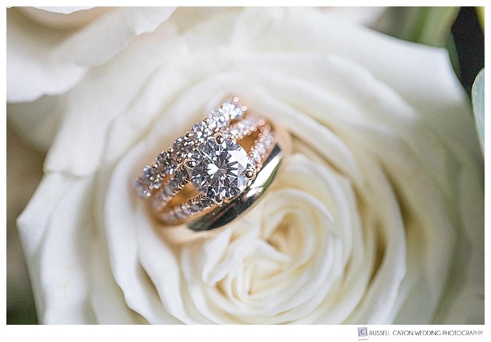 gorgeous wedding ring detail photo
