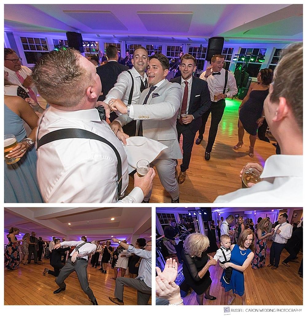 wedding reception dancing fun