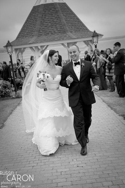 Bride and groom, married!