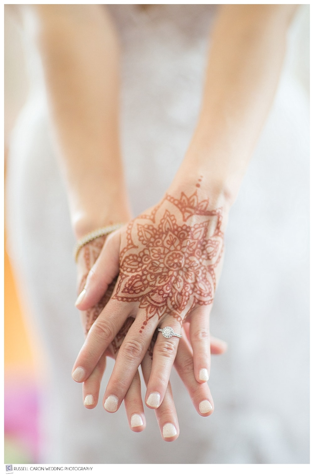 wedding day Mandala mehndi