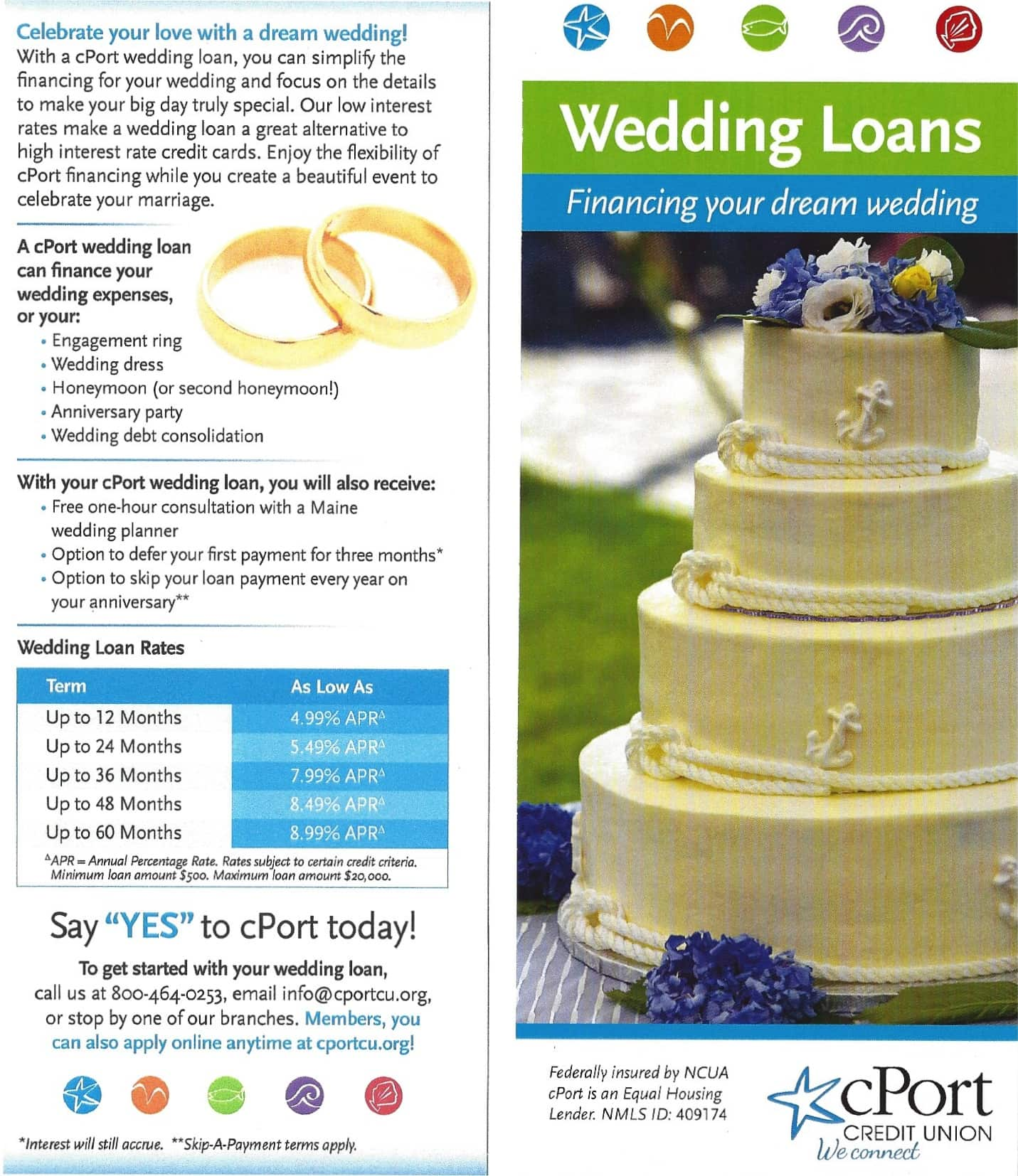 innovative wedding financing