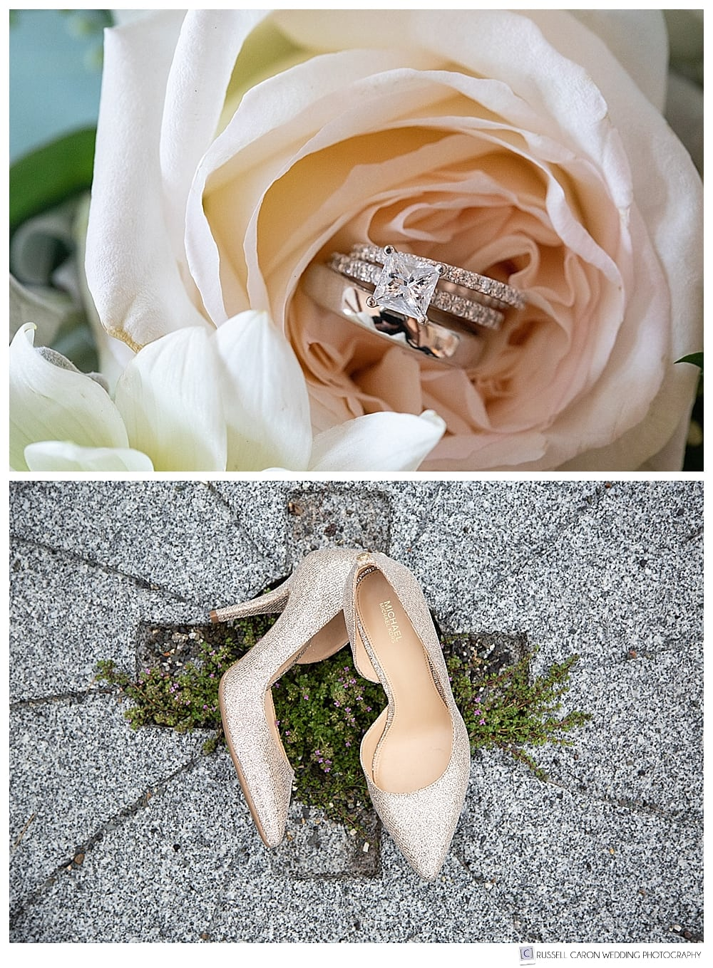 Bridal details, ring shots, shoe shots