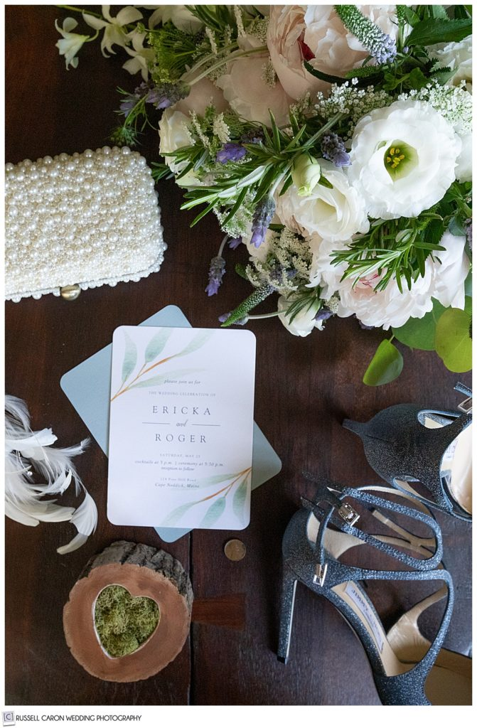 wedding day bridal details