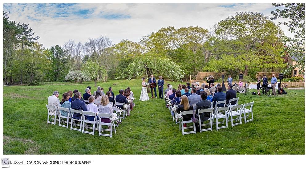 intimate Cape Neddick wedding ceremony