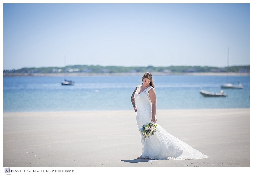 bride-on-goose-rocks-beach-kennebunkport-maine