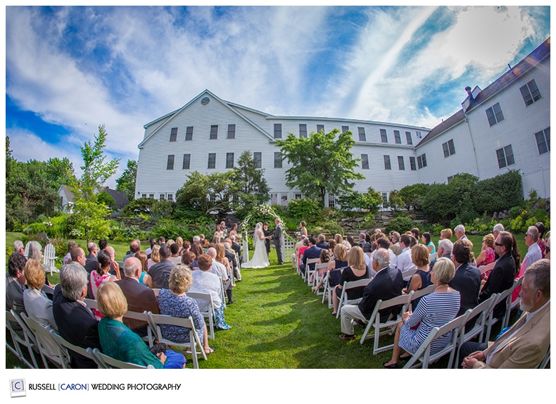 Outdoor Maine weddings