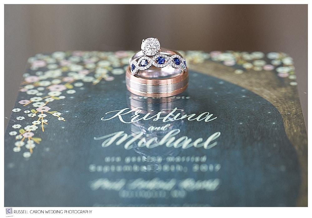 ring and paper suite wedding day detail photos