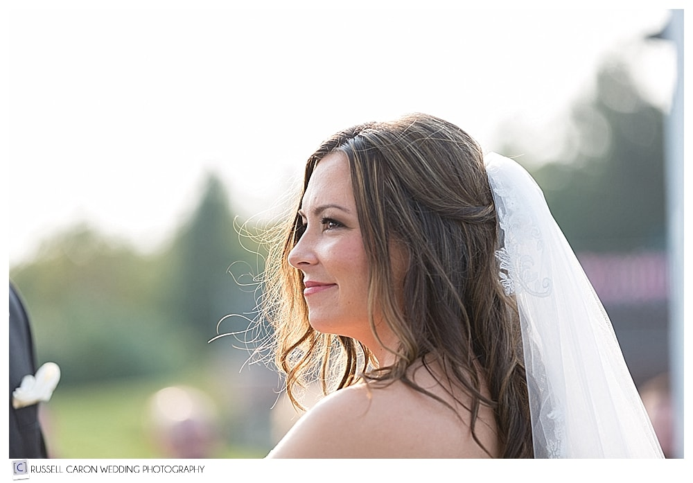 beautiful bride at Point Lookout wedding